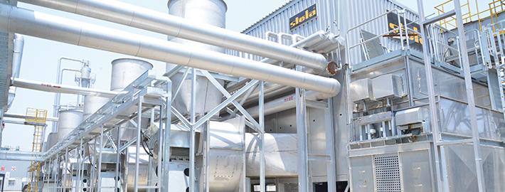 施德兰低温带式干燥机