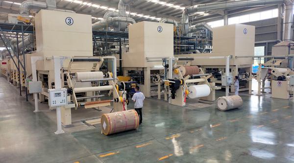 益维高全自动浸渍纸生产线